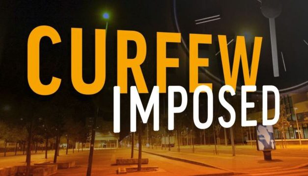 IMPOSITION OF CURFEW ON  CHEREPONI TOWNSHIP AND ITS ENVIRONS IN THE NORTH EAST REGION