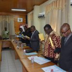 INTERIOR MINISTRY INAUGURATES AUDIT COMMITTEE
