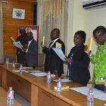 EXHIBIT HIGH LEVEL INTEGRITY AND PROFESSIONALISM – INTERIOR MINISTER TO ENTITY C'TTEE