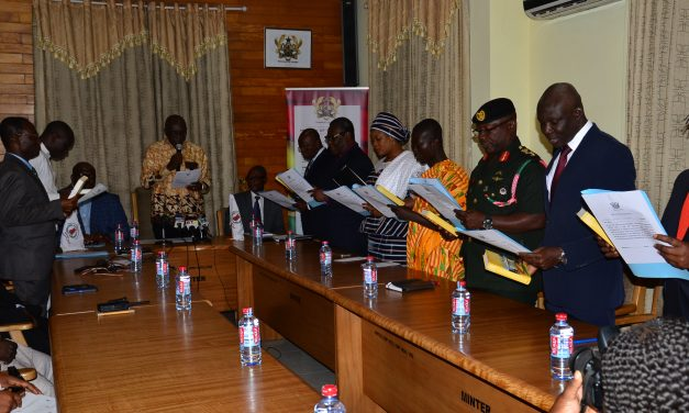 GOVERNING COUNCIL OF NADMO SWORN IN