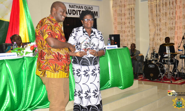 MRS. ADELAIDE ANNO-KUMI, CHIEF DIRECTOR OF INTERIOR MINISTRY ADJUDGED AMONGST BEST PERFORMED CHIEF DIRECTORS FOR 2017