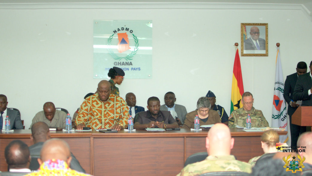NADMO CONDUCTS FULL-SCALE EARTHQUAKE SIMULATION EXERCISE IN ACCRA