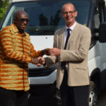 MINISTRY RECEIVES TWO VEHICLES