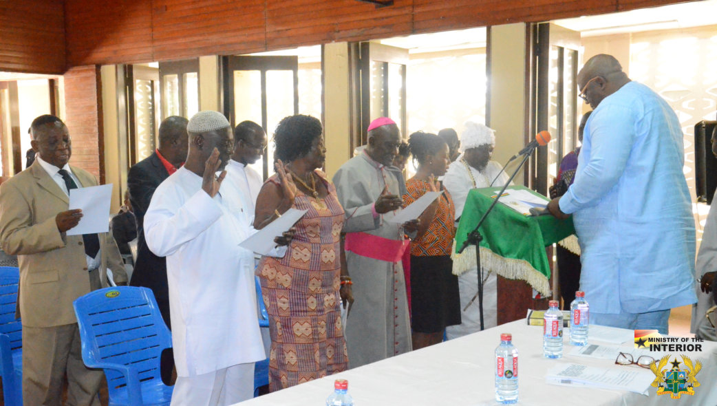FIRST EVER GREATER ACCRA REGIONAL PEACE COUNCIL INAUGURATED