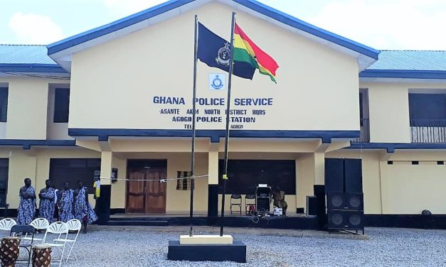 INTERIOR MINISTER COMMISSIONS NEWLY CONSTRUCTED POLICE HEADQUARTERS AND POLICE STATION FOR ASANTE AKIM NORTH DISTRICT