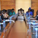MULTI SECTORIAL UGANDAN DELEGATION CALLS ON INTERIOR MINISTER