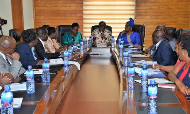 MULTI SECTORIAL UGANDAN DELEGATION CALLS ON INTERIOR MINISTER