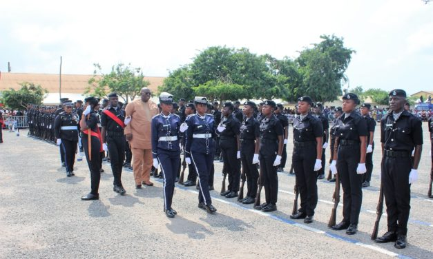 276 POLICE RECRUITS PASS OUT