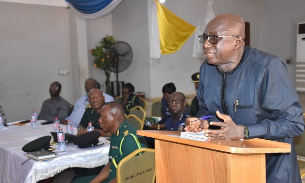 PRIORITISE SAFETY OF GHANAIANS-INTERIOR MINISTER TO SECURITY CAPOS AS NORTHERN & UPPER EAST TOUR STARTS