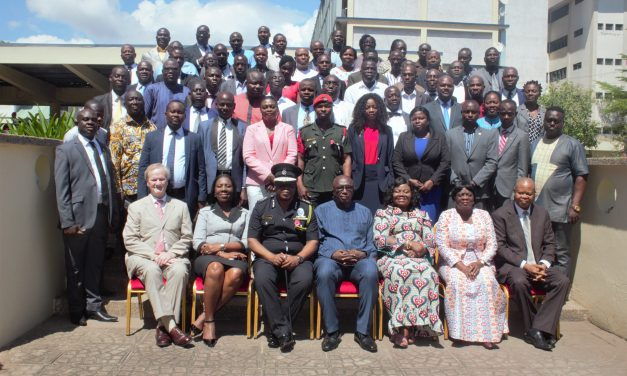 INTERIOR MINISTER OPENS 3RD ANNUAL CRIME OFFICERS CONFERENCE IN ACCRA