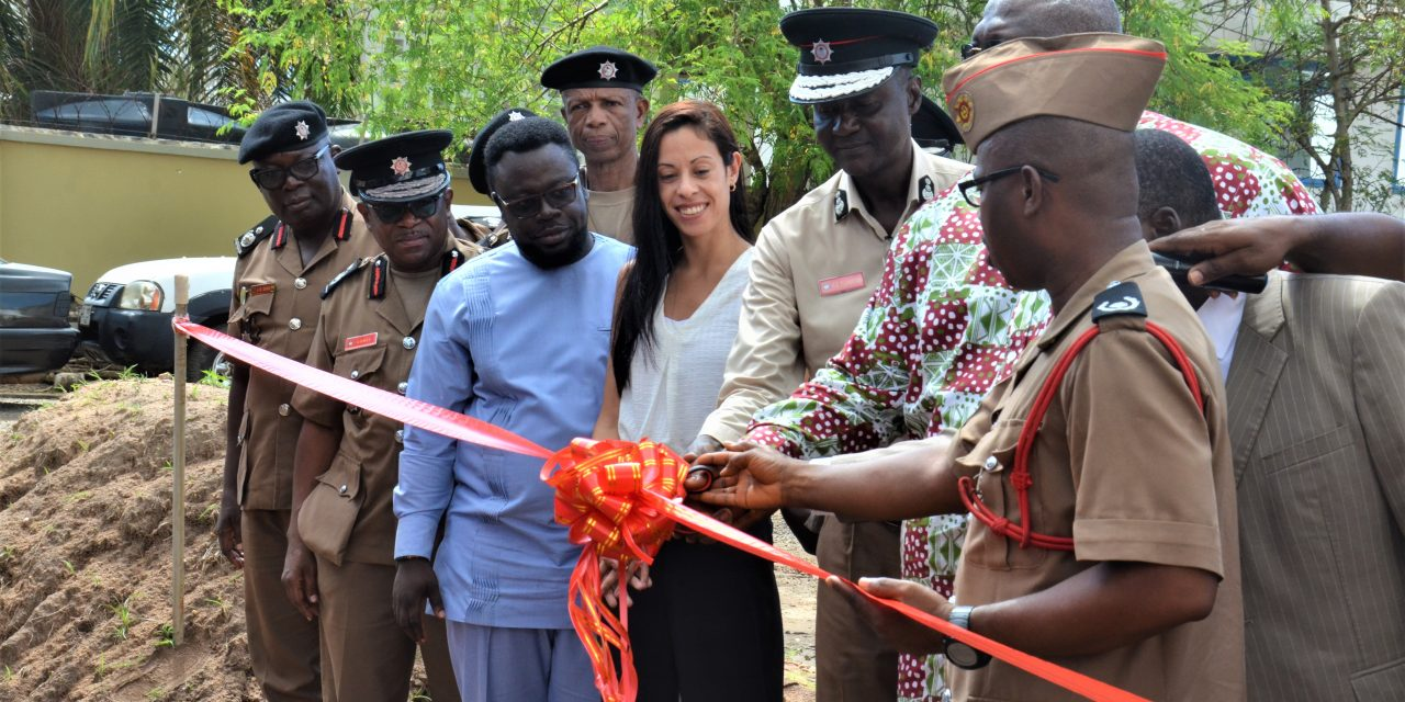 DEPUTY INTERIOR MINISTER CUT SOD FOR FORENSIC LAB FOR GNFS