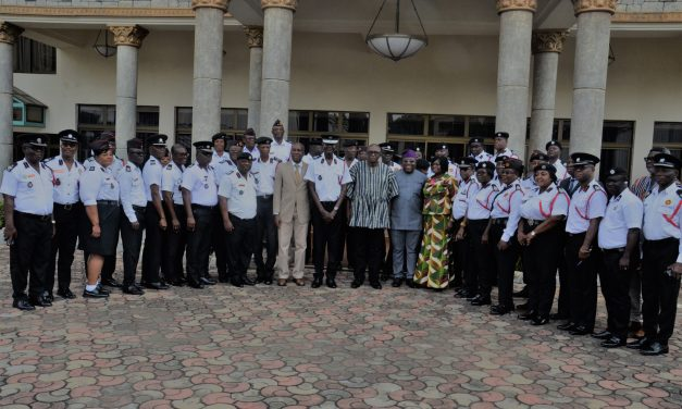 CONFAB OF DIRECTORS AND REGIONAL COMMANDERS OF THE GNFS OPENS IN ACCRA