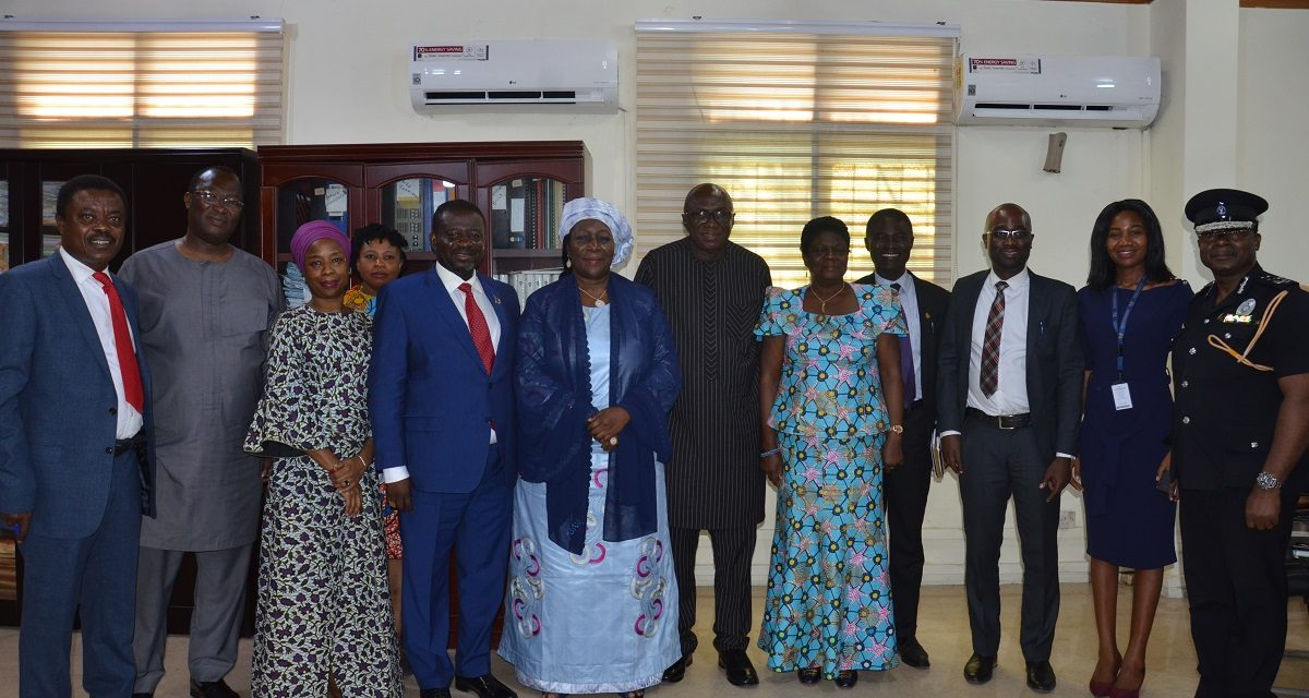 TEAM FROM ECOWAS' EARLY WARNING DIRECTORATE CALL ON INTERIOR MINISTER