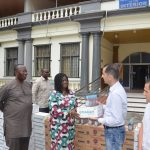 DELTA AGRO LIMITED DONATE ANTISEPTIC LIQUIDS AND SOAPS TO THE INTERIOR MINISTRY