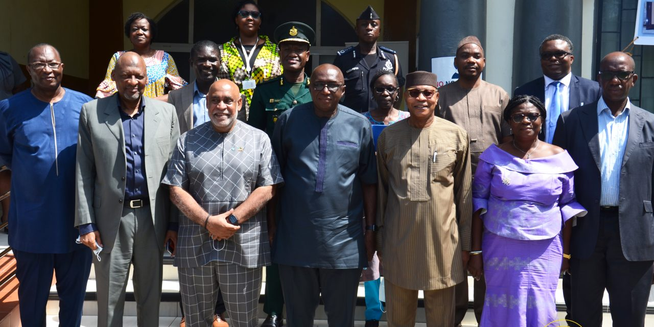 Joint UN and ECOWAS high level Election Missions call on Interior Minister ahead of 2020 Elections