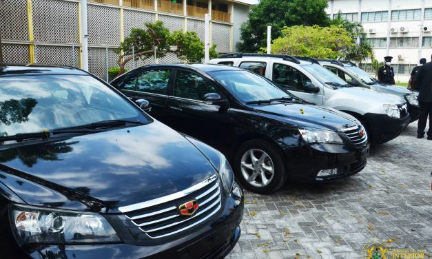 Svani Group Ltd Donates 4 Vehicles to the Ministry of the Interior