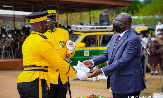 Government Committed To Continuous Capacity Building Of Prisons Service – VP Bawumia