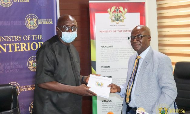 Interior Minister receives Report on Ejura Incident