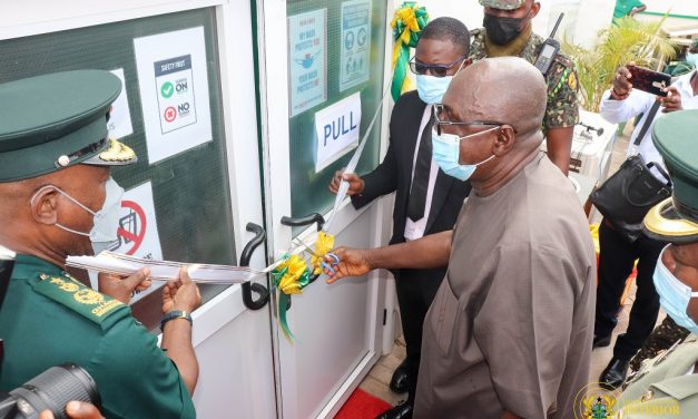 Interior Minister commissions Immigration Service Covid-19 Testing Centre