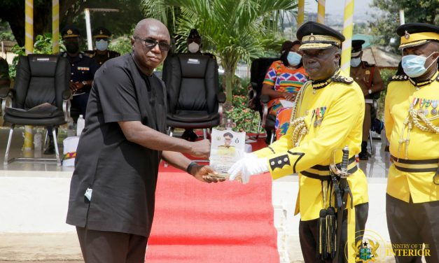 Prisons Service organises Farewell Parade for Outgoing Director-General