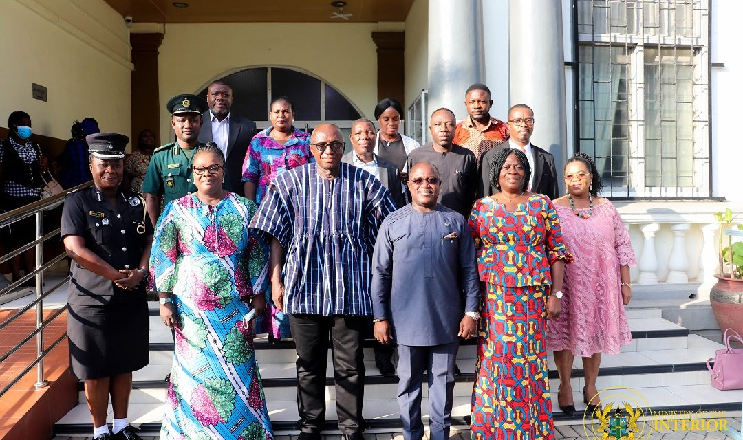Inauguration of Governing Board of Ghana Refugee Board